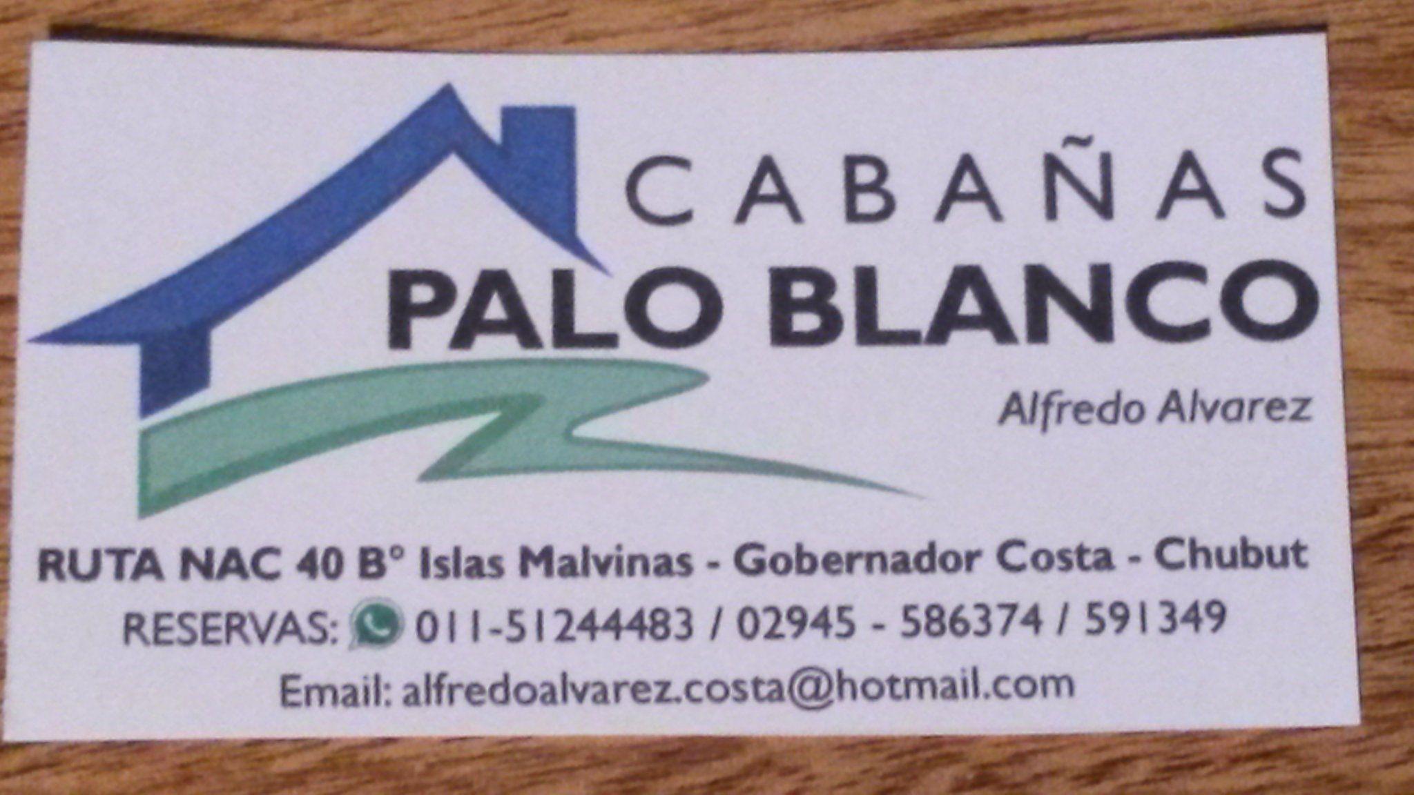 Cabañas Palo Blanco