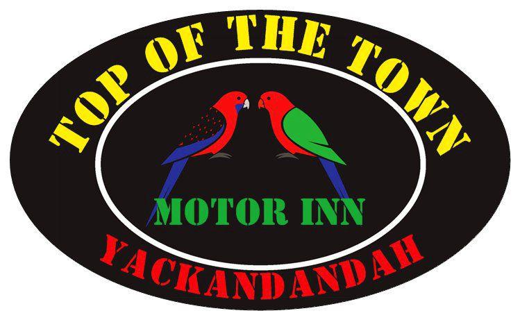 雅克堪丹达城镇上方汽车旅馆