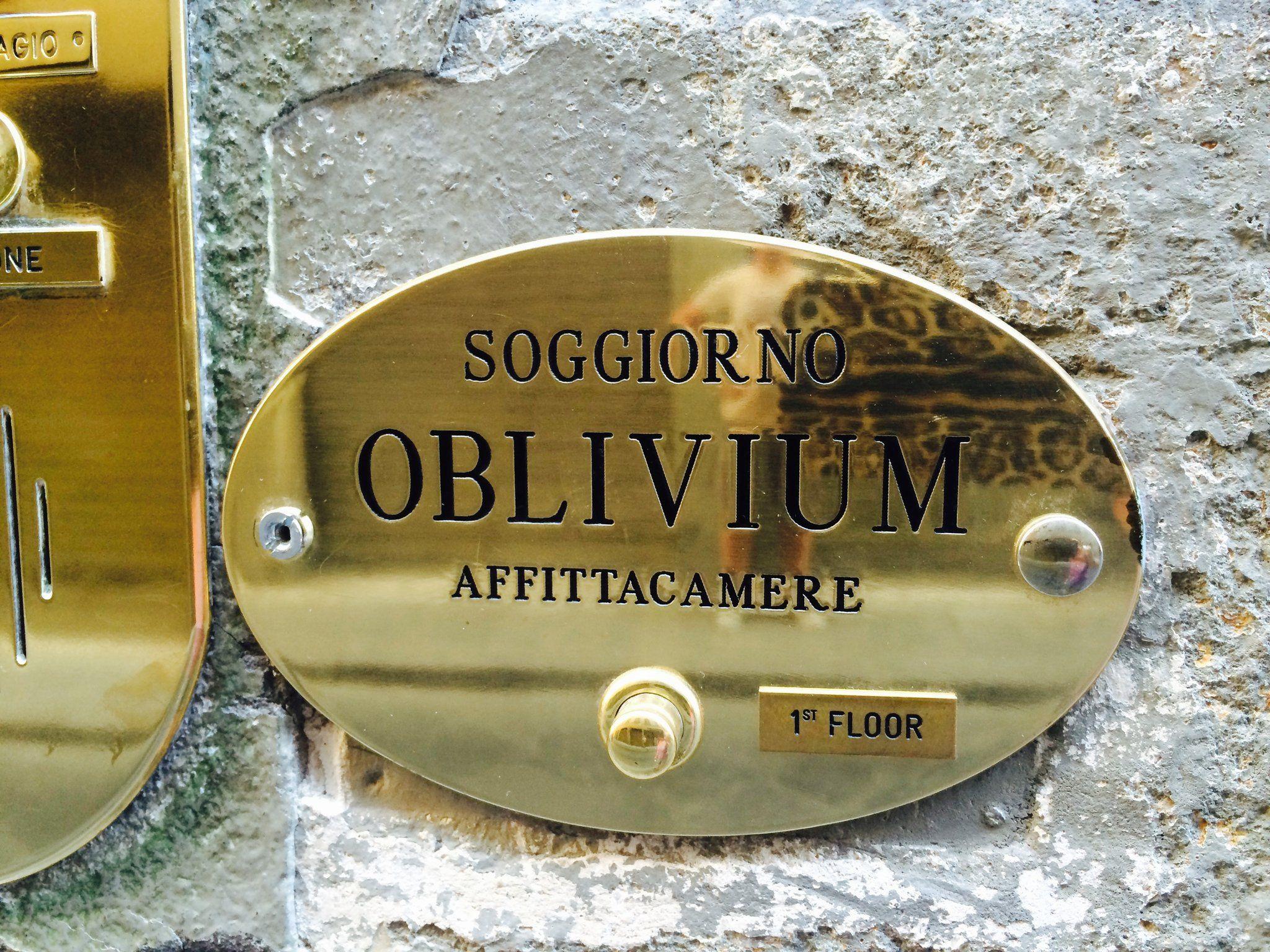 Soggiorno Oblivium