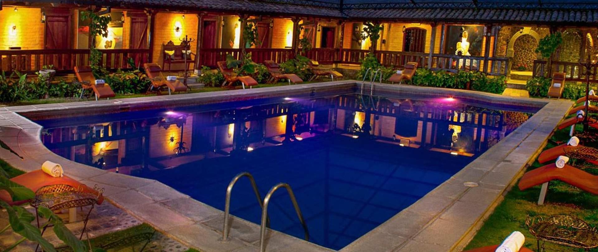 Hotel samari spa resort ba os ecuador samari spa - Hoteles en banos ecuador ...