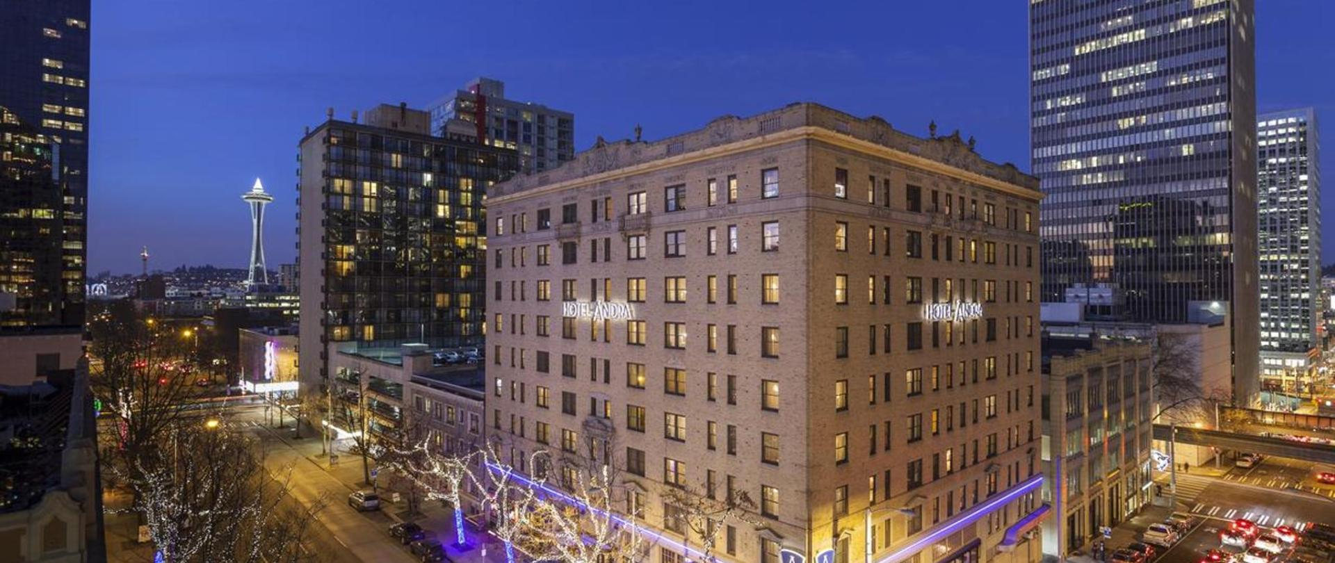 Boutique Hotel In Downtown Seattle Wa Hotels Ändra United States Of America