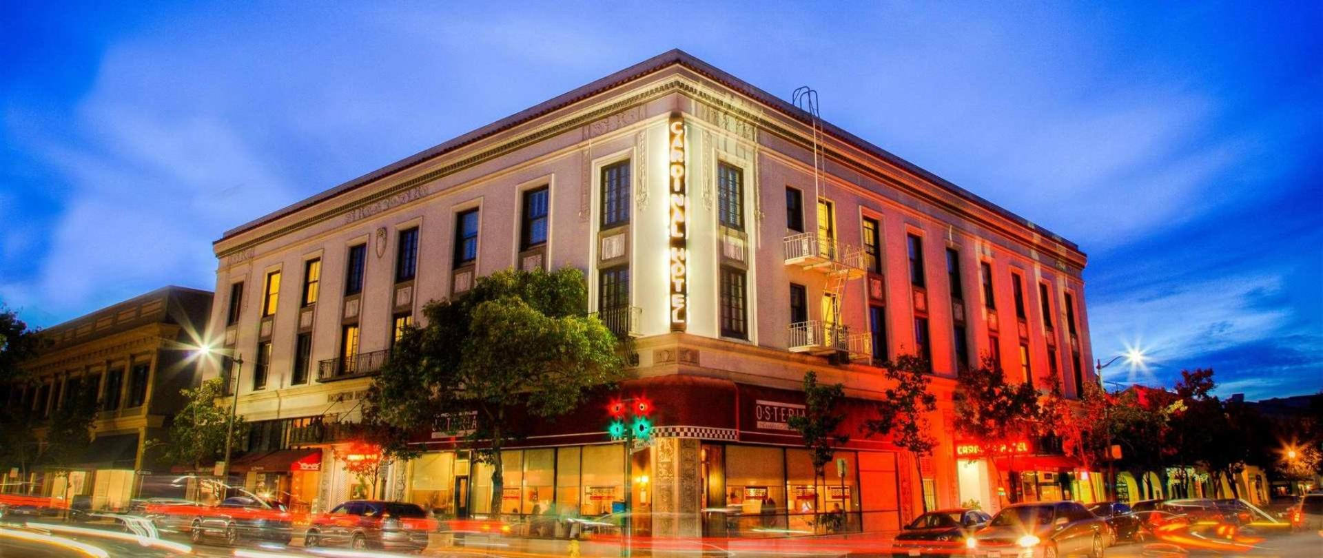The Cardinal Hotel Palo Alto Stanford Ca United States Of America