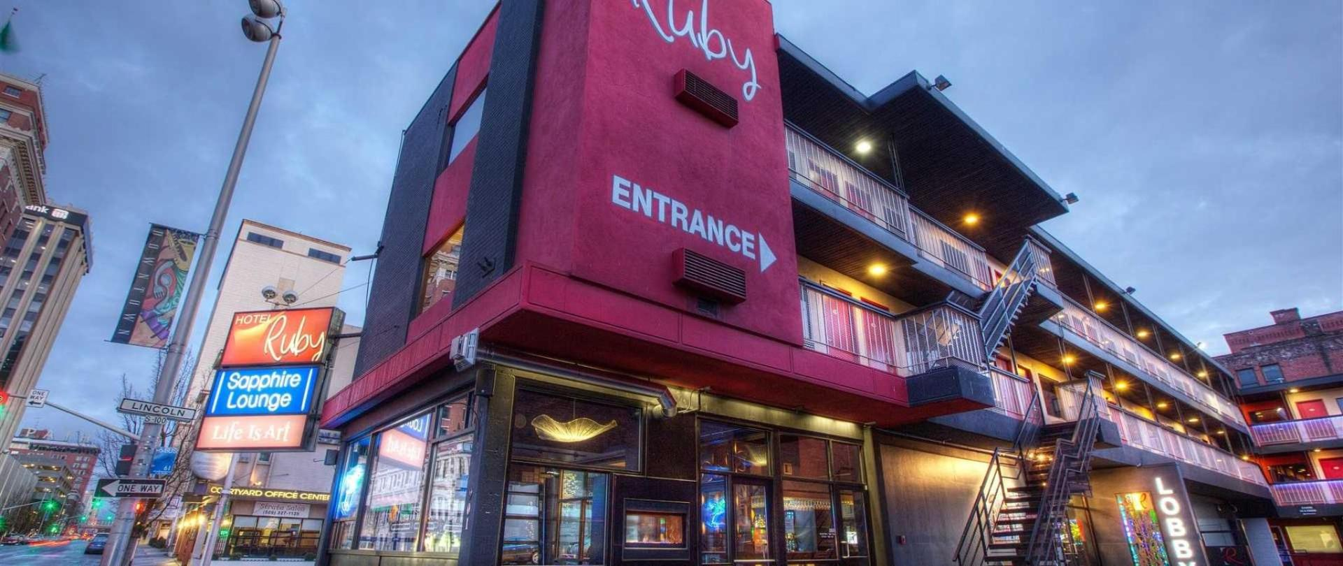 Hotel Ruby Downtown Arts Boutique Spokane United States Of America