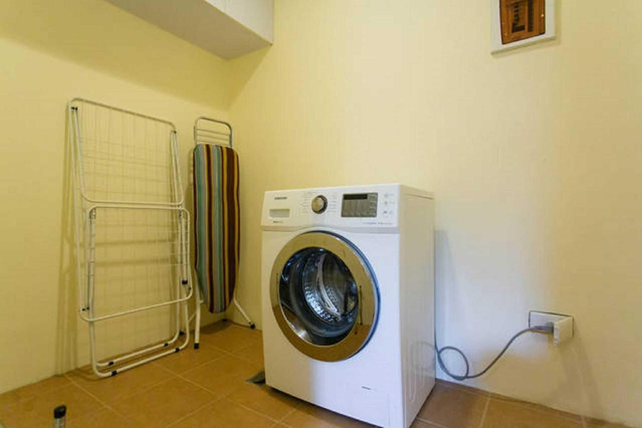All apartments come with a laundry area