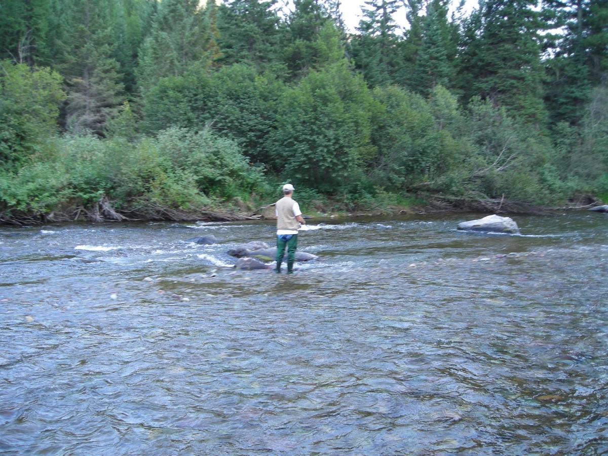 Fishing on the Thompson River, just 5 min from the motel.jpg