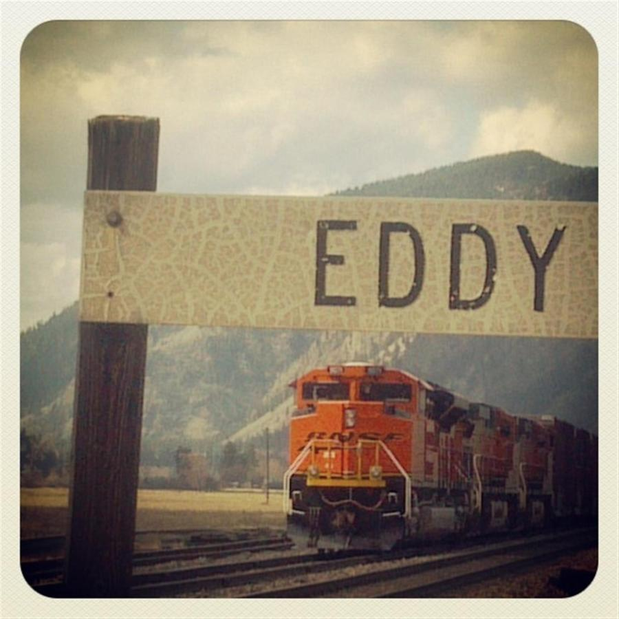 Eddy was a town just a few min east of Thompson Falls - here is the old railroad station sign.jpg
