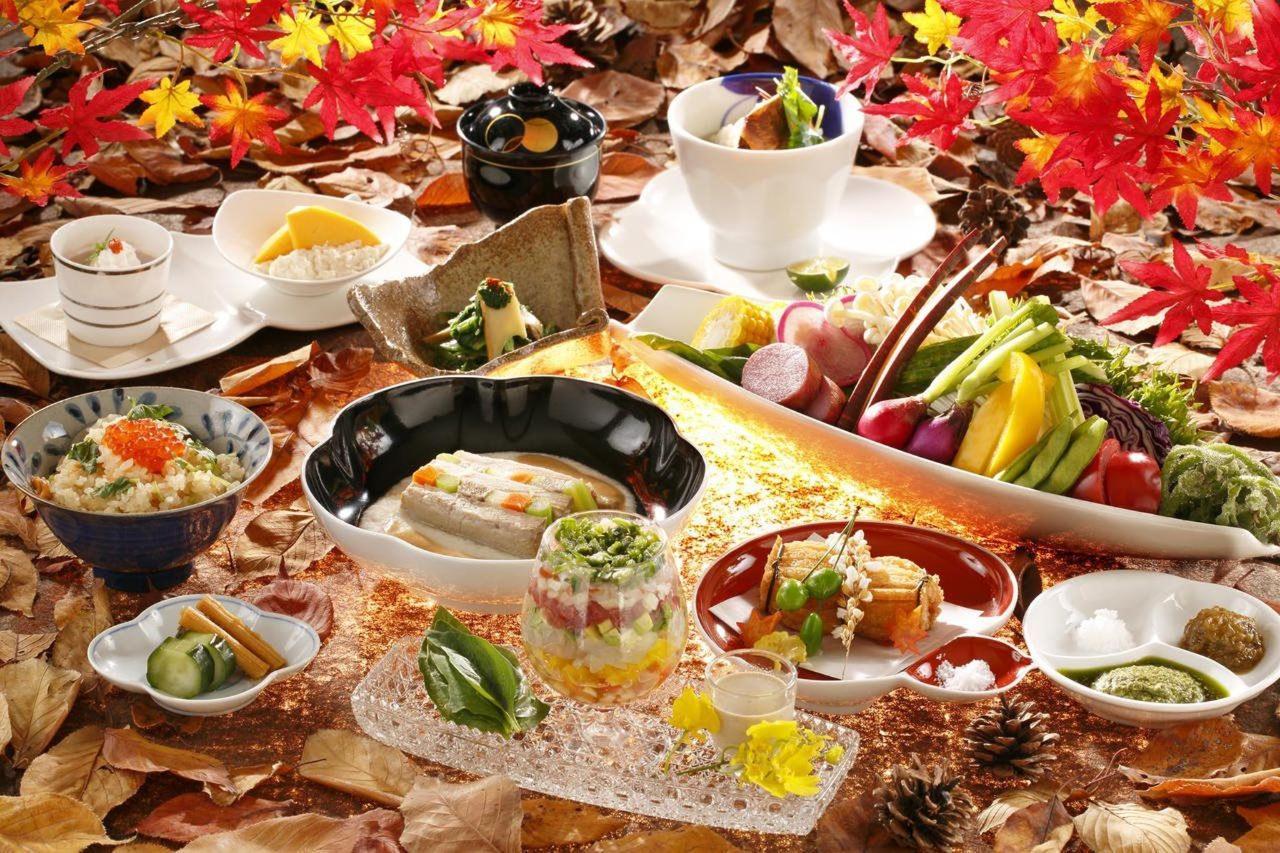 Autumn Kaiseki Cuisine