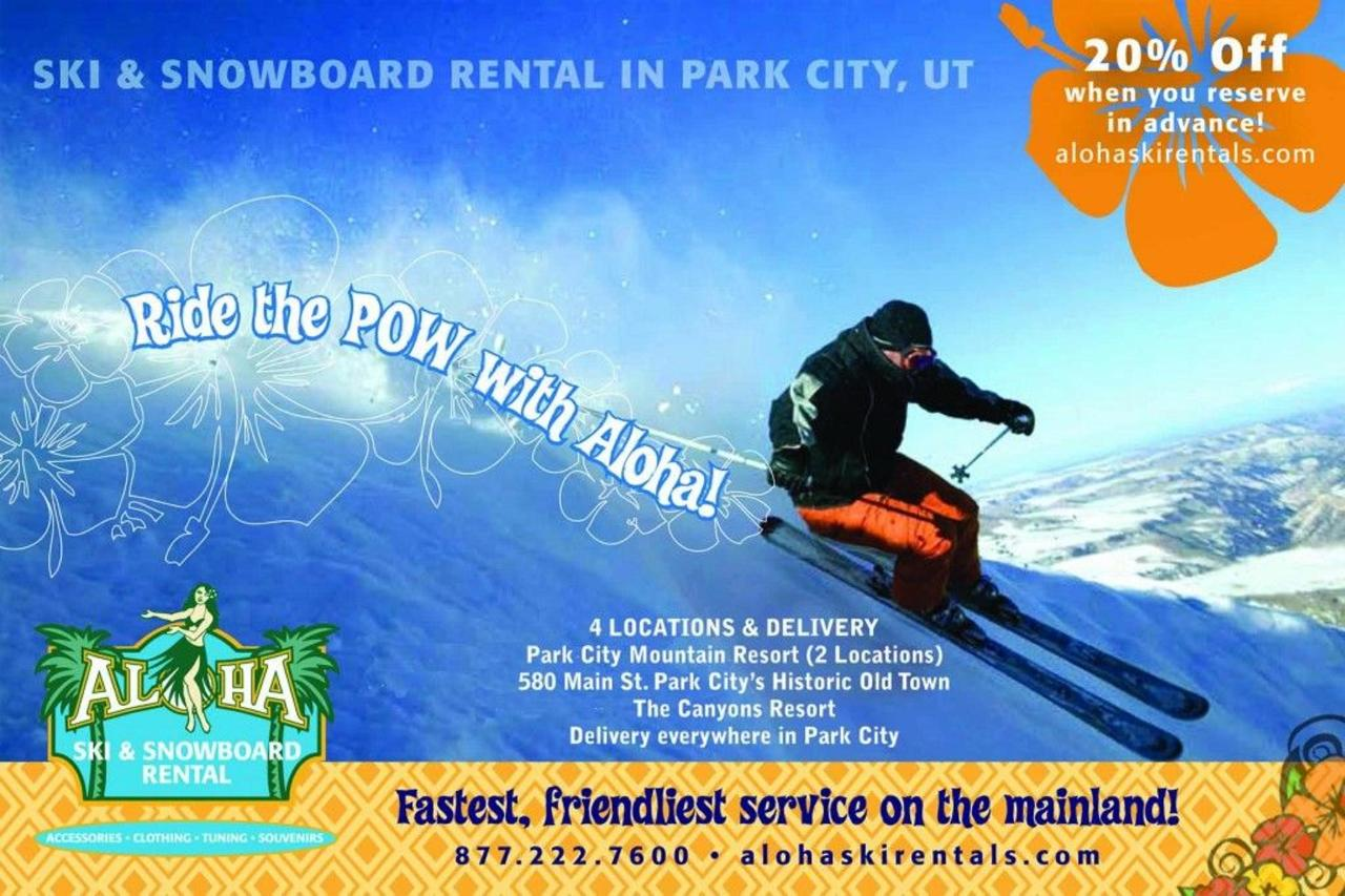 Aloha Ski Rental - Chateau Apres - Park City - Utah - USA