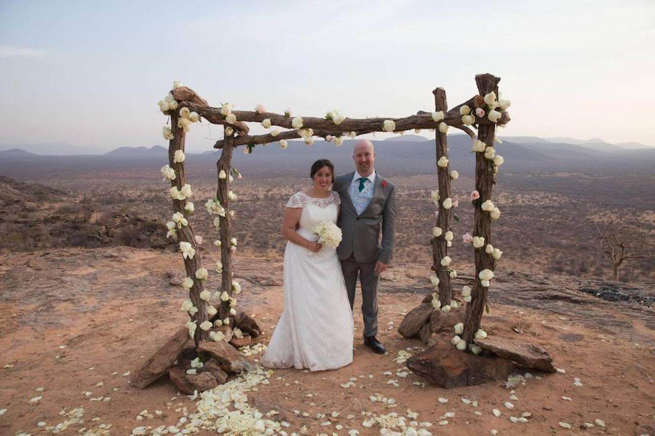 Newly weds with a backdrop of pure wilderness.jpg
