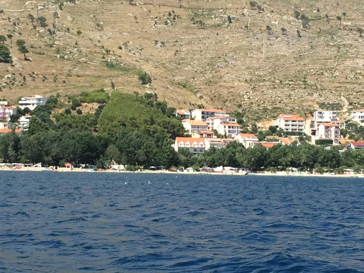 Panorama view from sea