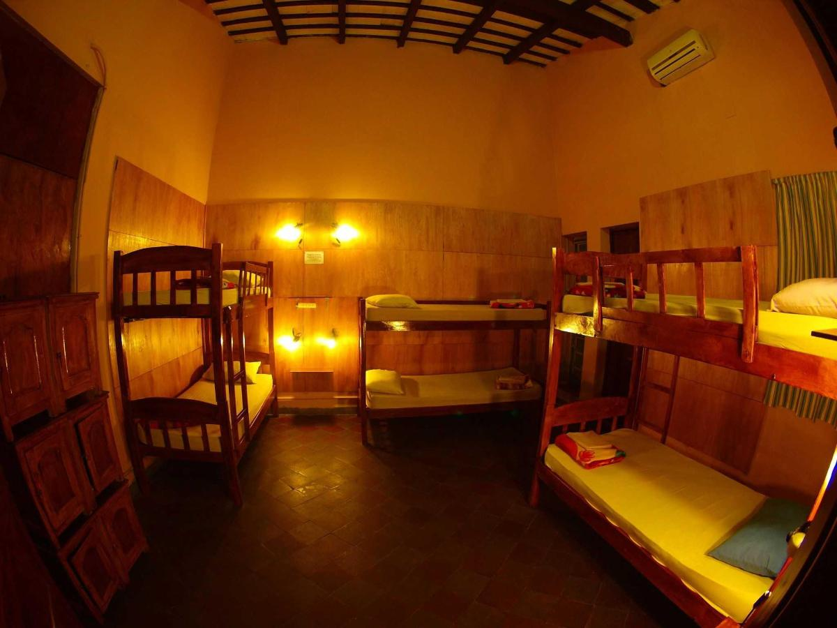 Bed in 6-Bed Dormitory Room with Private Bathroom