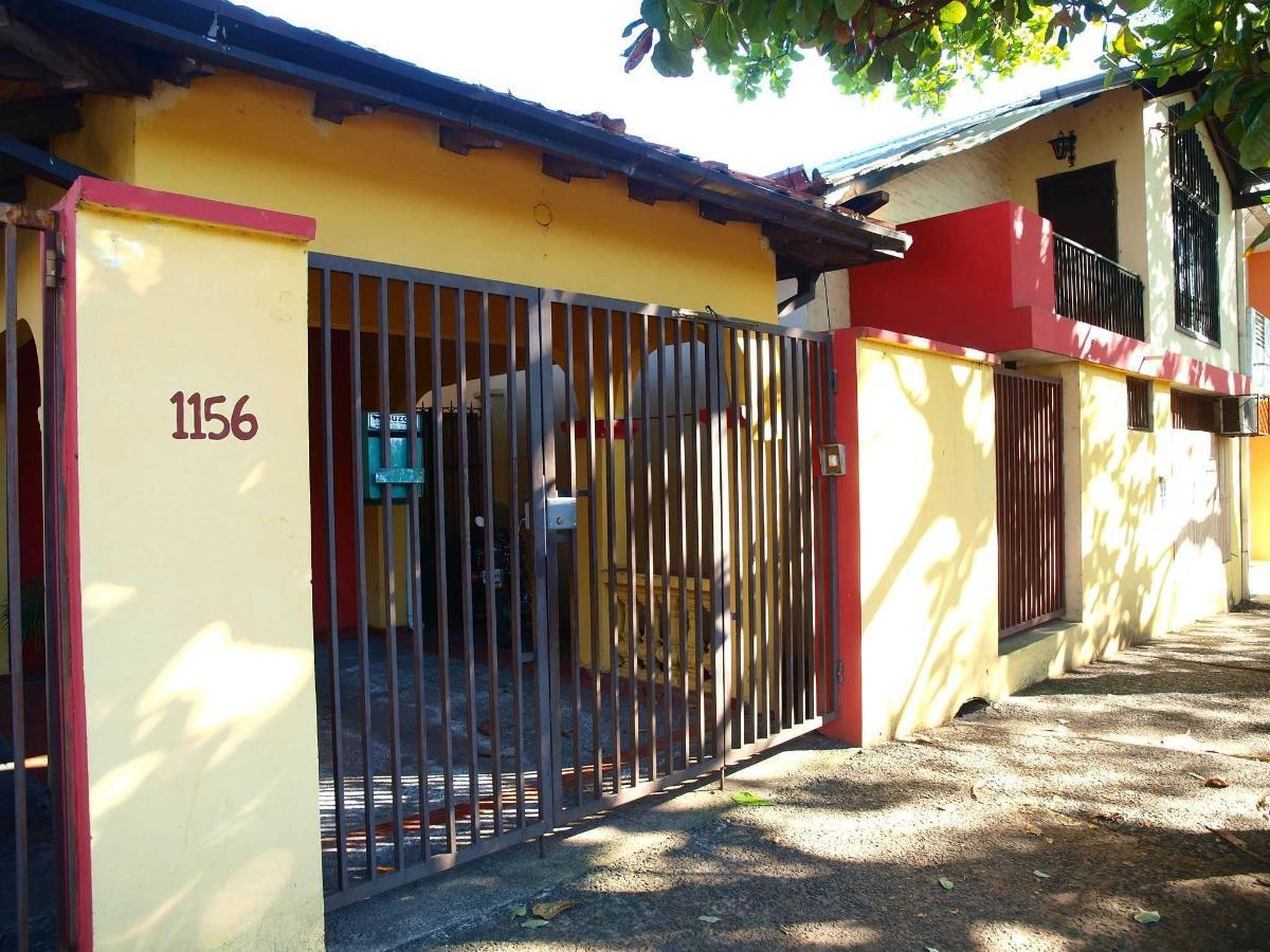 front door of the hostel on Iturbe Street.JPG