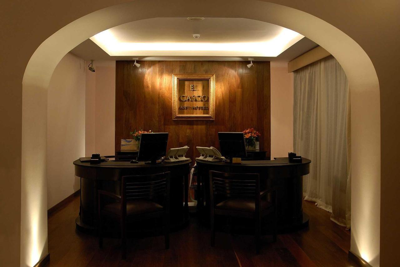 El Hotel - Interiores