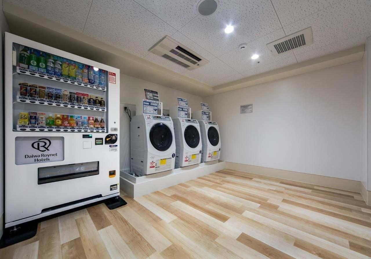 Vending machine and washing machines