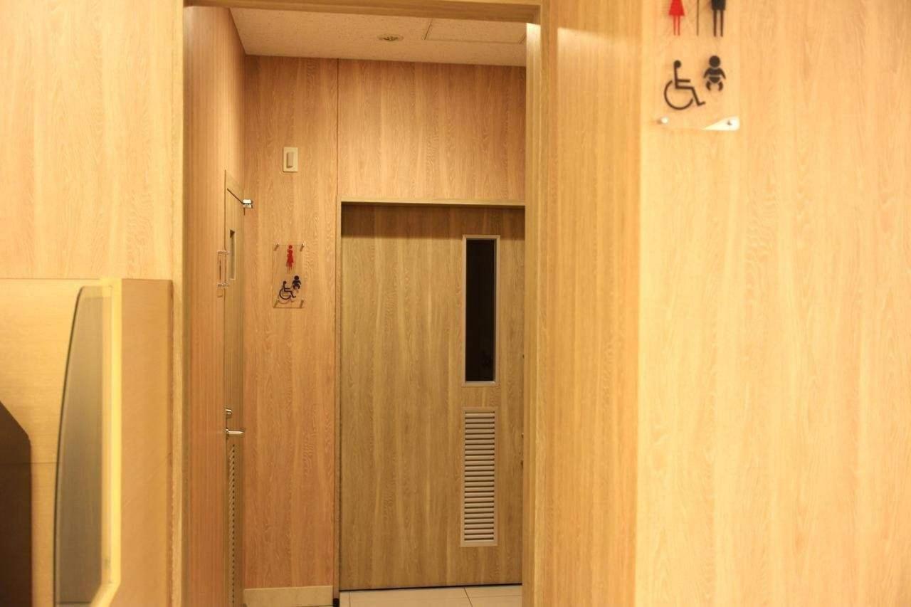 Barrier-free toilet