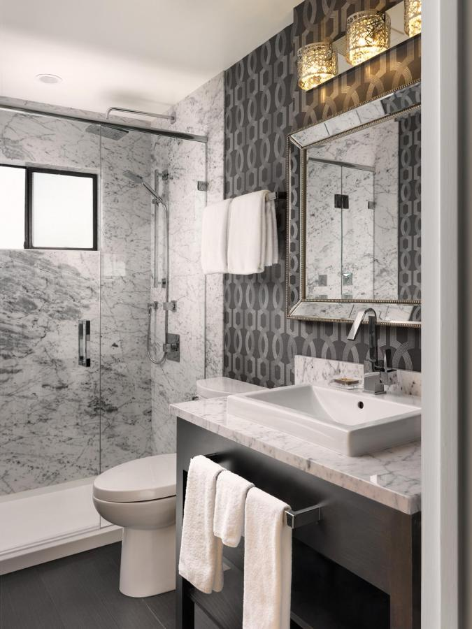 Main bathroom of Two-Bedroom Penthouse. Also featuring body spray jets..jpg