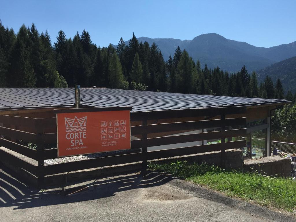"""Corte Delle Dolomiti Spa chalet enchanté - il """"tuo rifugio"""" nella natura delle"""