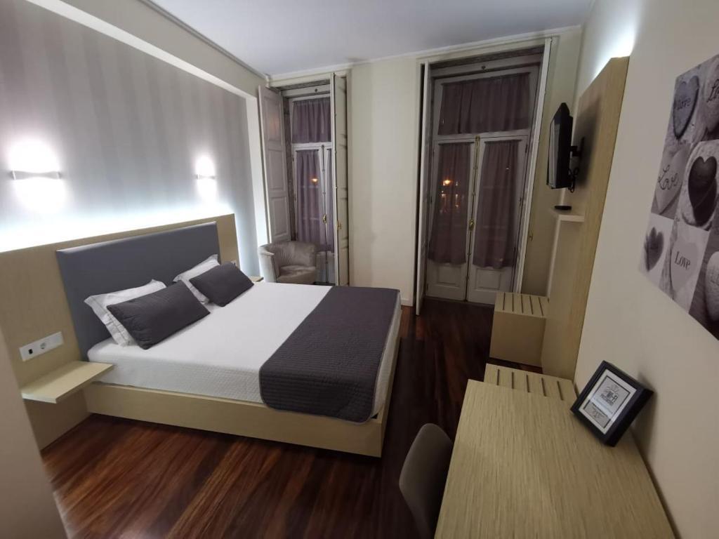 Camera Matrimoniale Doppia Con Letti Singoli.Hotel Residencial Dora Sito Ufficiale Hotel A Braga