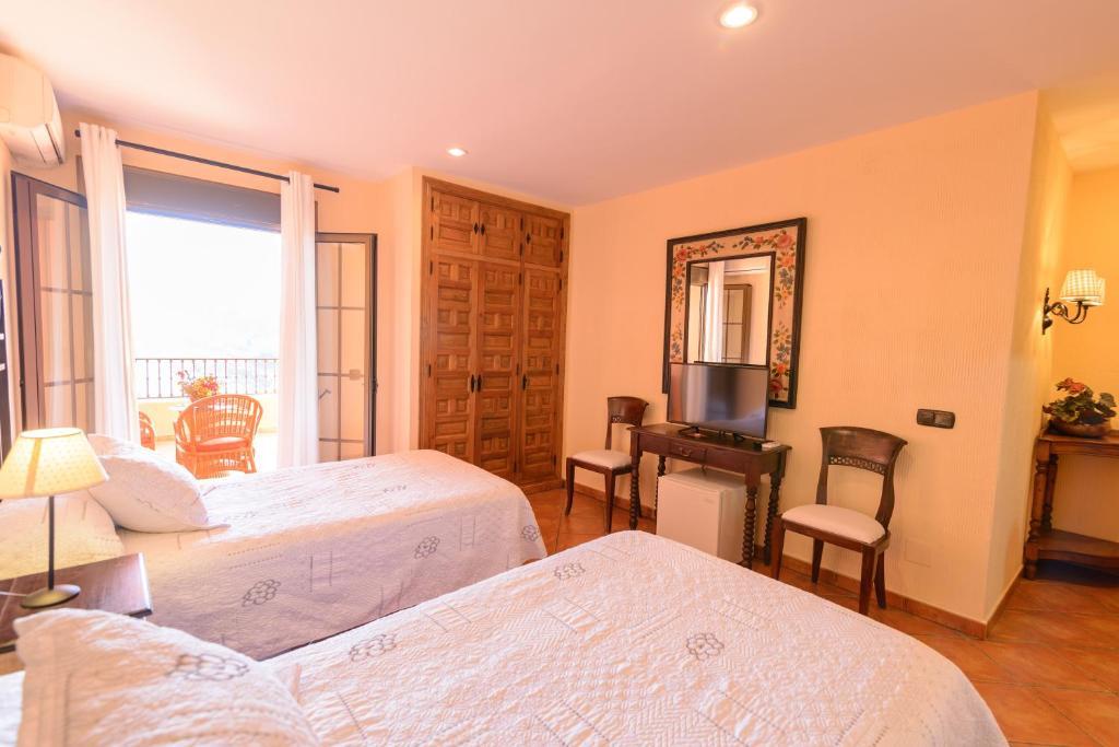 Hotel Rural Sierra Tejeda - Sito ufficiale | Hotel ad Alcaucín