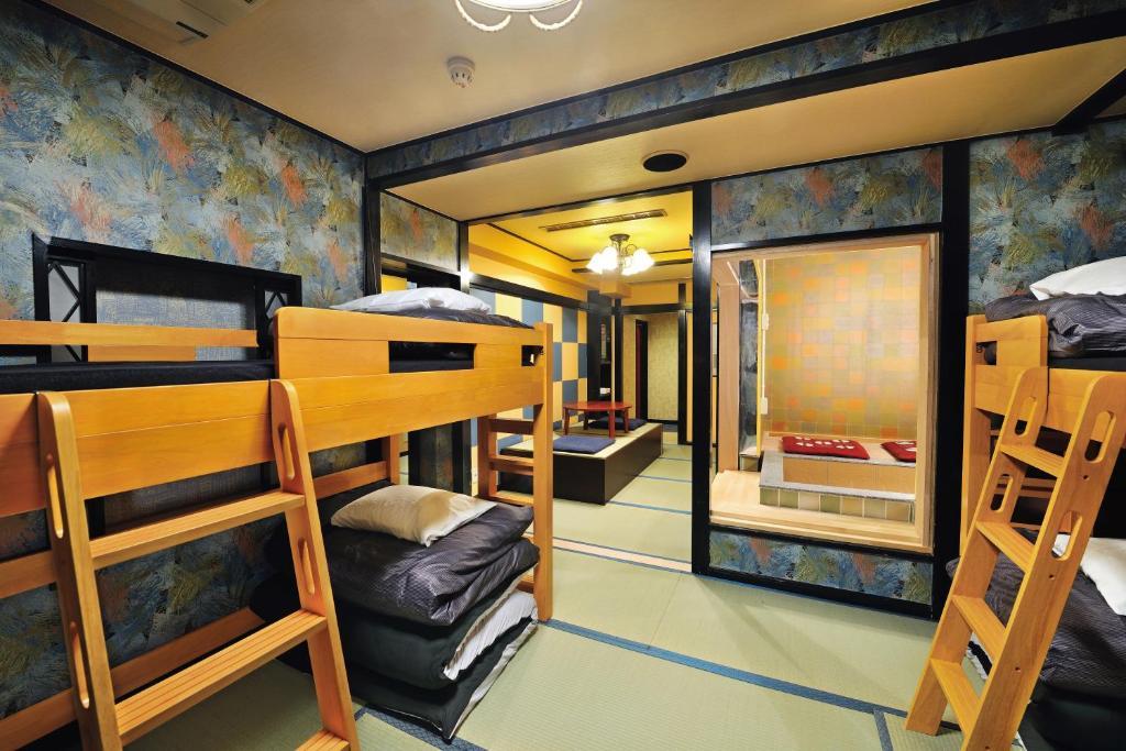 Letti A Castello Per Ostelli.Khaosan World Asakusa Ryokan Hostel Sito Ufficiale Ostelli A Tokyo