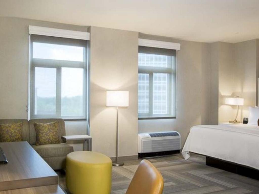 Corner One Bedroom King Suite - Cambria hotel & suites Rockville