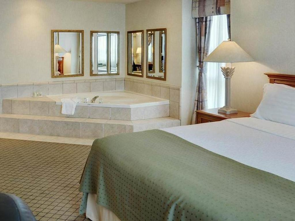 Chambre Lit King-Size avec Jacuzzi Suite - Holiday Inn Oakville at ...