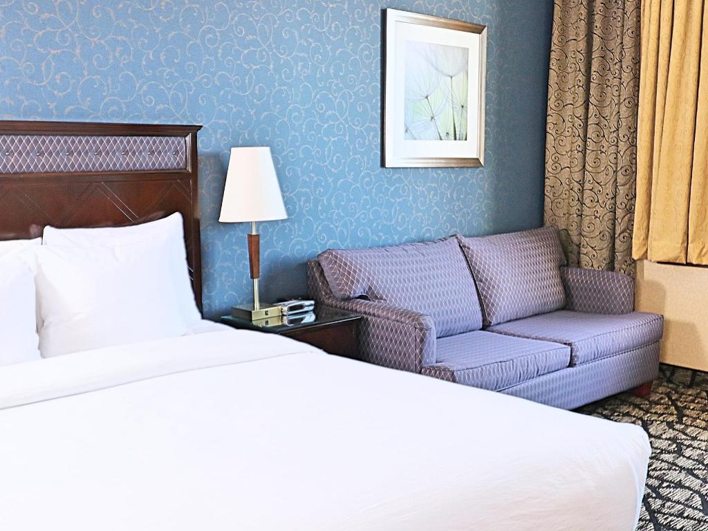 Queen Bed Plus Sofa