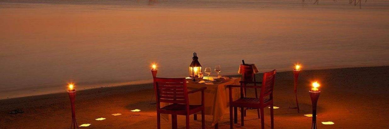 Romantic Beach dinner in Ukulhas at Coral Reef View Inn.jpg