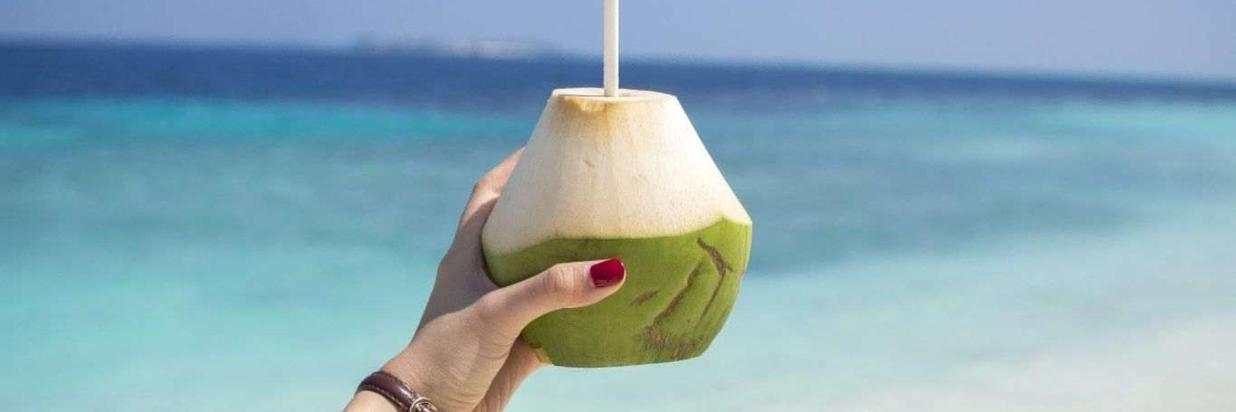 maldives on a budget-coconut drink.jpg
