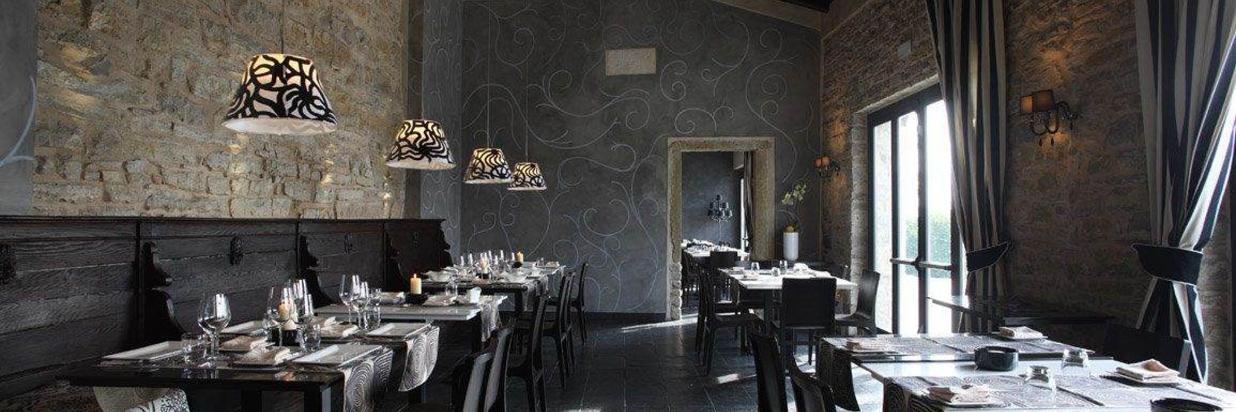 Castello degli Angeli ristorante interno Barbariccia