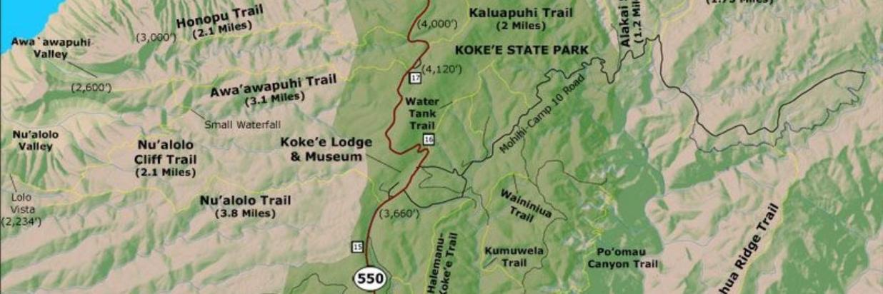 Kokee Park & Waimea Canyon
