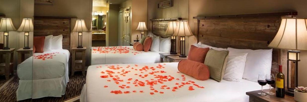 Rose Petal Bed