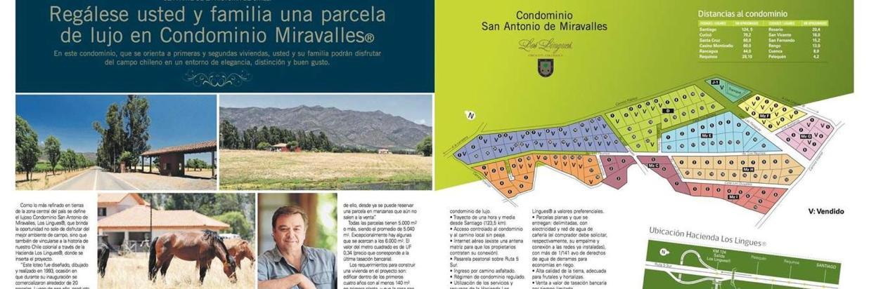 Edición Especial del Mercúrio Condominio San Antonio de Miravalles