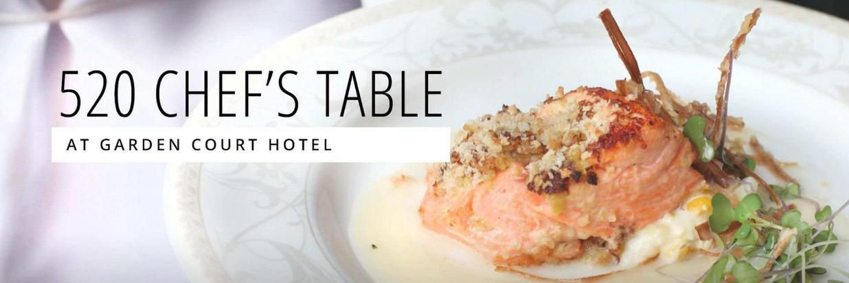 July 520 Chef's Table Draws From Local Waters