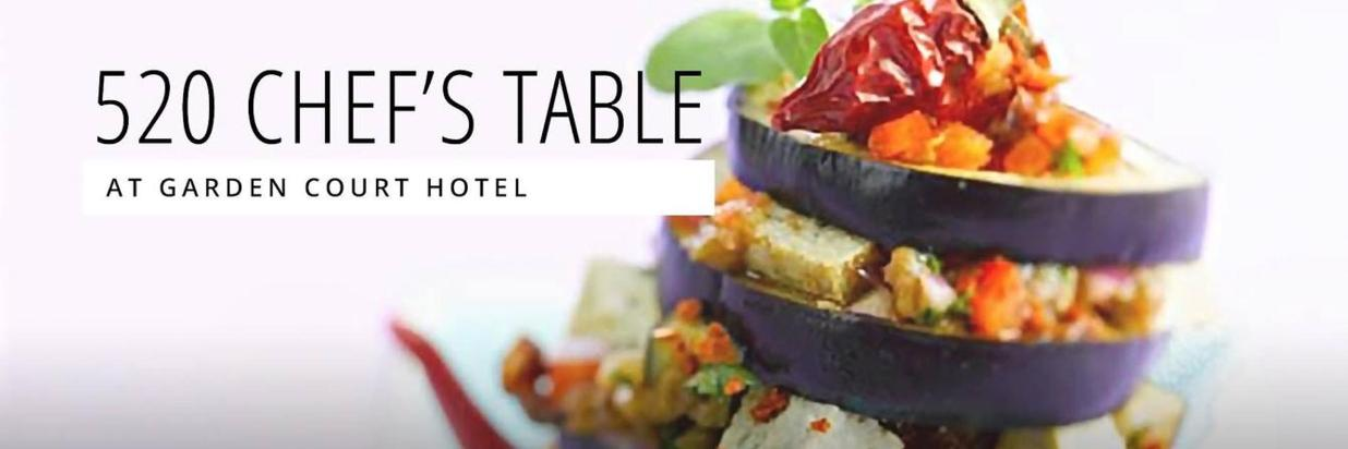 August 520 Chef's Table Celebrates the Local Harvest