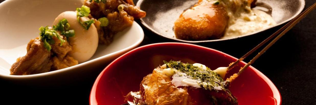 Kushikatsu Dinner