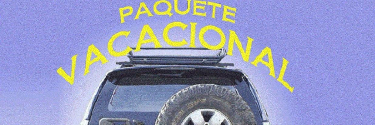 Paquete Vacacional $1425.00 por pax