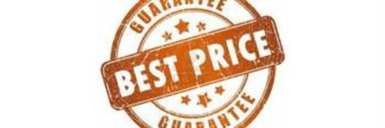 Garantía del Mejor precio
