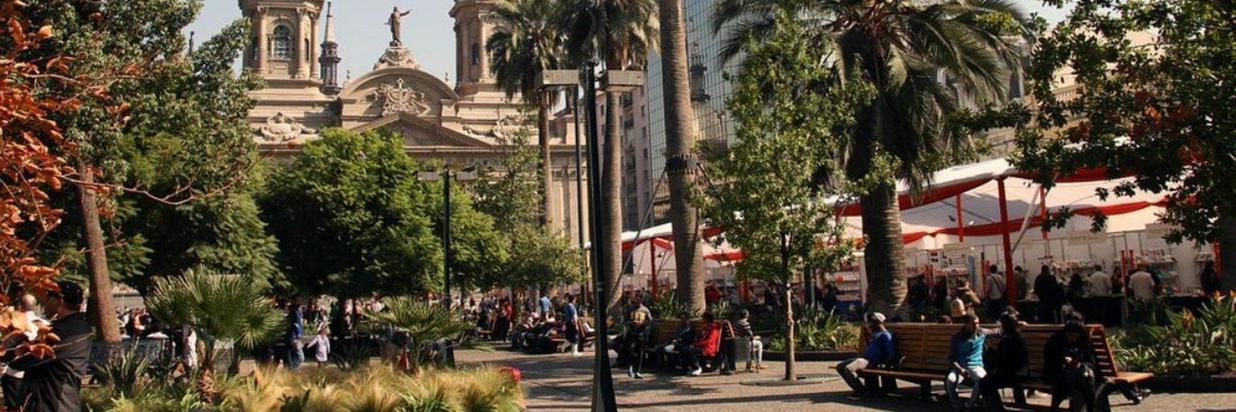 Explorar el Centro histórico de Santiago