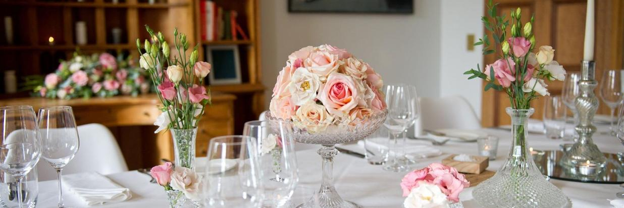 Smaller Wedding Hire At Cowley Manor Gloucestershire
