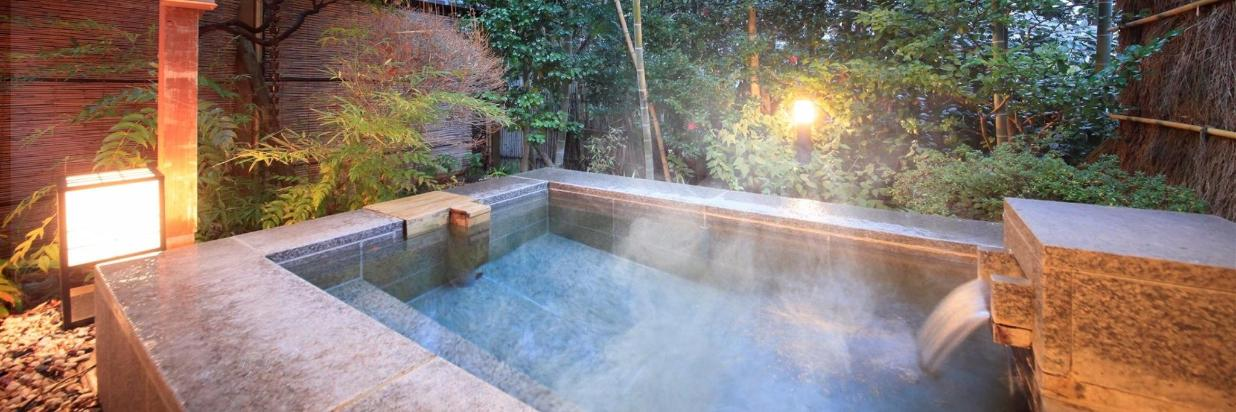 Book with Dinner and Get Free Private Bath!