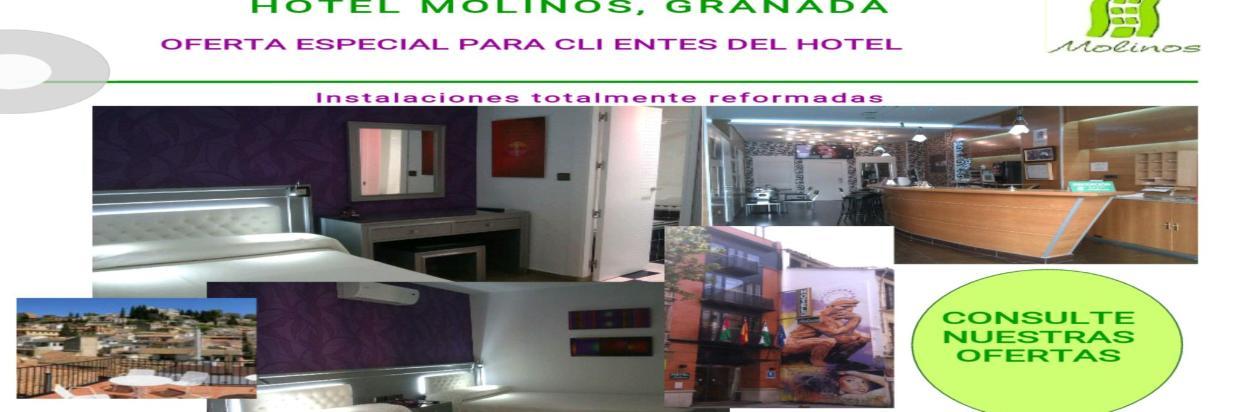 Oferta Hotel Molinos