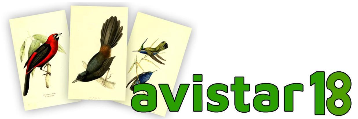 AVISTAR 2018 - XII Encontro Brasileiro de Observação de Aves