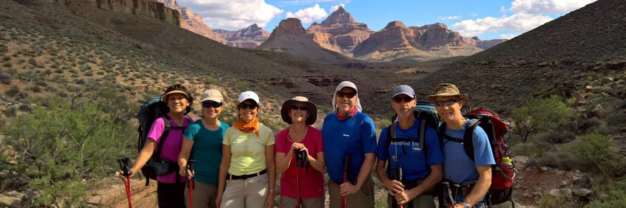 Grand Canyon Backpacking Tour Package