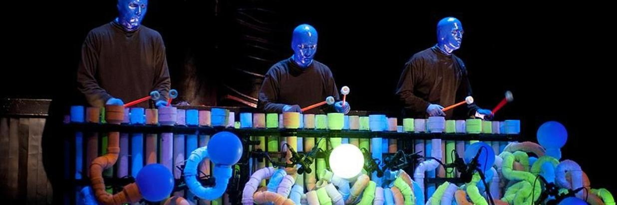 Blue Man Group Vacation Package