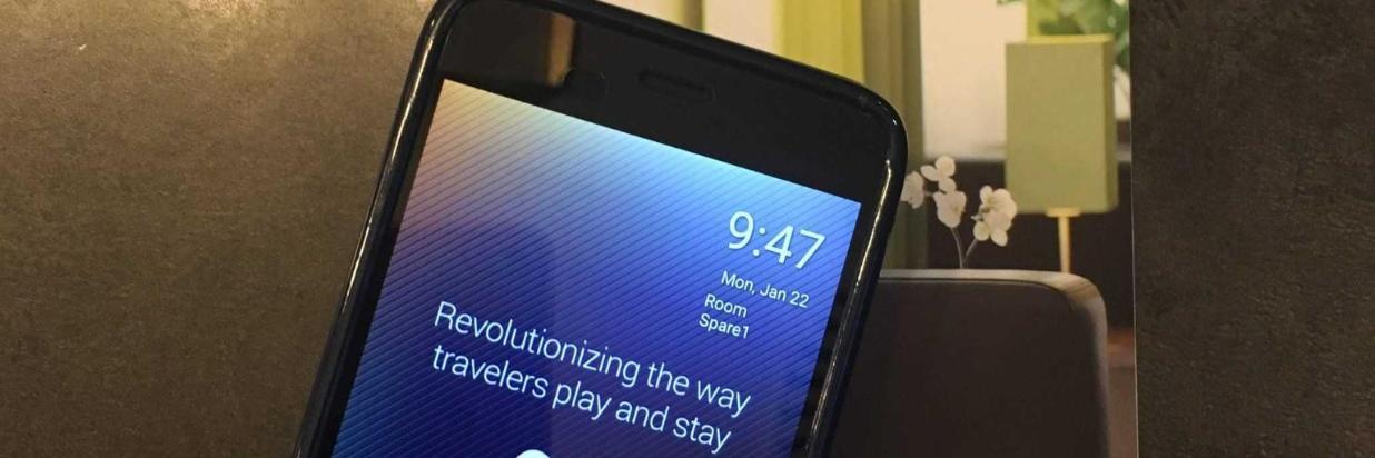 Smartphones auf den Zimmern