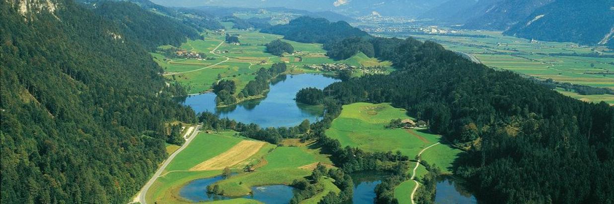 Seen und Schwimmbäder
