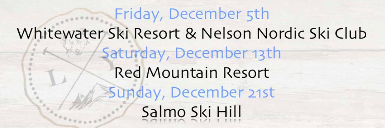 Dec. 5th = Opening Day for Ski Fans.