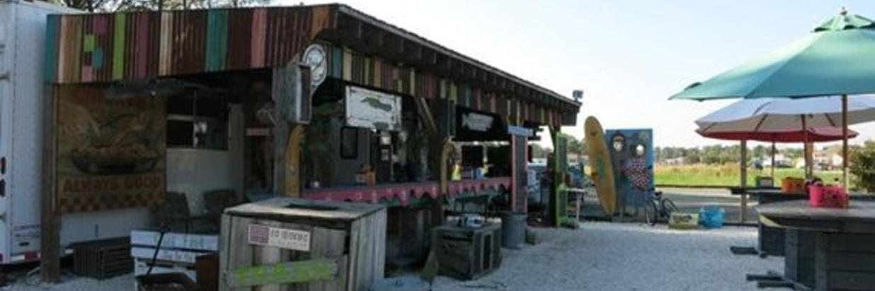Eat at Woody's Beach BBQ and Eatery
