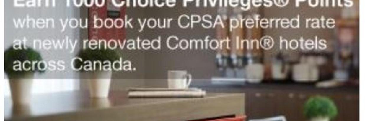 CPSA Bonus Points Promotion